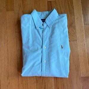 Ralph Lauren Button Down baby blue